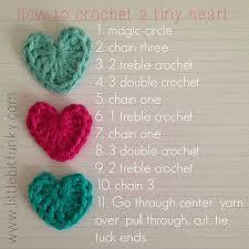 Tiny Flower Crochet Pattern - 25 best crochet hearts ideas on pinterest free heart crochet