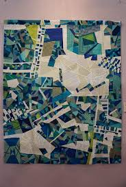 43 best map art in textile design images on pinterest map quilt