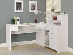 L Shaped Desk Office Furniture Glancing Hutch Plus Home Office Desks Desks And Small Desk And