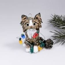 ragdoll cat gray ornament figurine by themagicsleigh