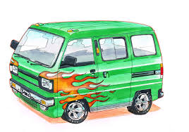suzuki super carry van vanfan pinterest suzuki carry kei