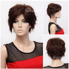short hairstyles with side bangs hair style and color for woman
