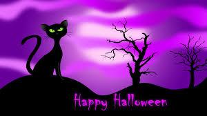 wallpaper halloween cats