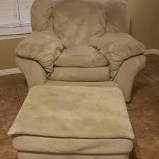 Oversized Armchair With Ottoman Find More Microfiber Tan Oversized Chair With Ottoman Treated At