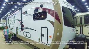 rockwood trailers floor plans forest river rockwood signature ultra lite 8335bss youtube
