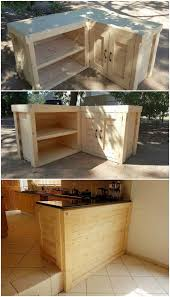 kitchen ideas reclaimed pallet furniture table out of pallets