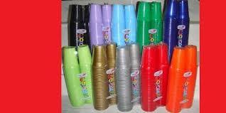piatti e bicchieri di plastica colorati articoli per feste piatti e bicchieri monouso