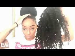 small afro puff buns hair pieces how to create a pretty bun evawigs kinky curly virgin hair