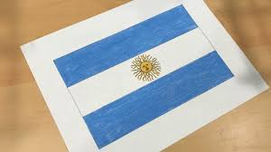 Argentina Flag Photo Argentine Flag Drawing Youtube