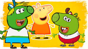 breadwinners peppa pig coloring pages u0026 english rhymes for kids