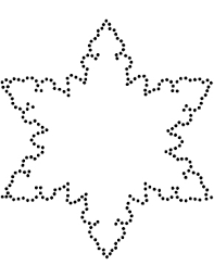 templates for snowflakes snowflake template clever hippo