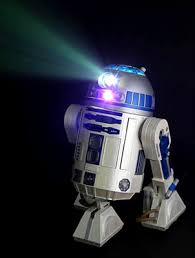 r2d2 projector just as handy as the real artoo wired