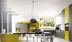 grey white yellow kitchen grey mustard yellow modern kitchen interior design ideas