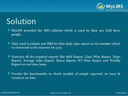 MyLMS    FMCG Case Study