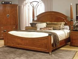 bedroom furniture sets wooden bed headboard rug pad nightstand
