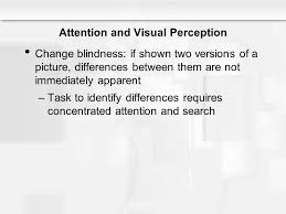 Change Blindness Task Chapter 4 Attention Ppt Video Online Download