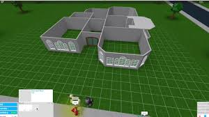 one story house bloxburg small one story house