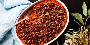 3 ingredient sweet potato casserole with maple pecans recipe