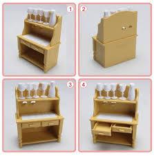 1 12 miniature home furniture mini toy kitchen room set dolls