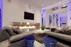 Living Room Lighting Apartment Interior Design Magnificent Apartment Living Room And Kitchen