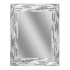 Square Bathroom Mirror Gray Bathroom Mirrors Bath The Home Depot
