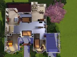 mod the sims cozy house for small family advertisement