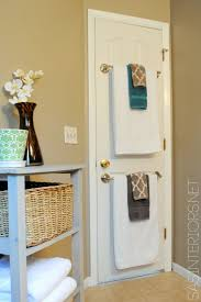 small bathroom towel rack ideas 29 sneaky diy small space storage and organization ideas on a