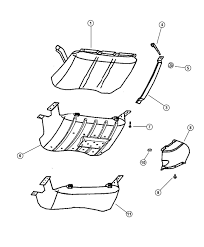 jeep front drawing gas tank shield jeepforum com