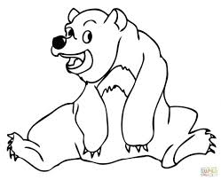 coloring pages bearded dragon bear hibernating colouring baby care