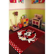 chambre fille disney tapis chambre fille disney premium minnie 004 100x150 par