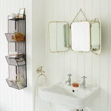 tri fold bathroom mirror tri fold wall hung mirror i graham and green home pinterest