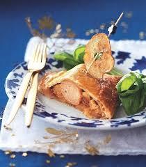 cuisiner le boudin blanc recette feuilletés au boudin blanc compotée de pommes aux figues