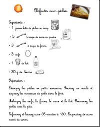 recette de cuisine clafoutis aux pêches recettes illustrées ma classe