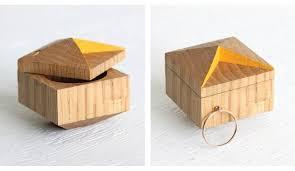 unique box engagement ring boxes