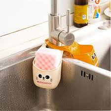 g nstige k che küche schwammhalter günstige pvc katze wasserhahn hängen