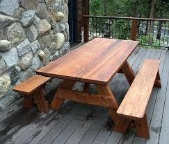 Wooden Picnic Table Plans Large Picnic Table U2013 Littlelakebaseball Com