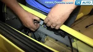 how to install replace door lock switch 2001 vw volkswagen beetle