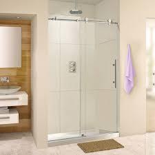 Shower Door Width Frameless Sliding Shower Door 44 48 Width 76 Height 3 8