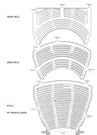theatre floor plan seating plans her majesty u0027s theatre