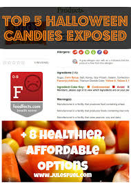 halloween candy exposed 8 healthier affordable alternatives