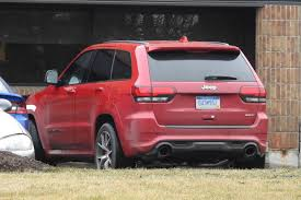 jeep grand cherokee rear bumper spied more potent jeep grand cherokee srt trackhawk www in4ride net