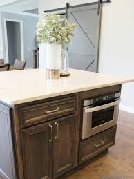 kitchen island with microwave accessories kitchen ideas black island white with microwave drawer