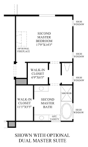 dual master bedroom floor plans altura the sorrento nv home design