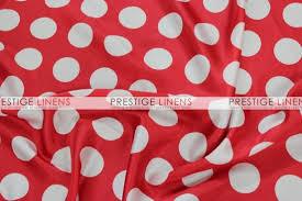 red and white table runner polka dot print charmeuse table runner red white prestige linens
