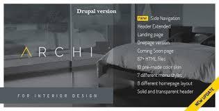 Interior Design Themes Archi Premium Interior Design Drupal Commerce Theme By Cmsbluetheme