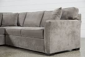 aspen 2 piece sleeper sectional w laf chaise living spaces