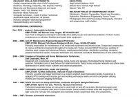 sample resume for hvac technician fred resumes