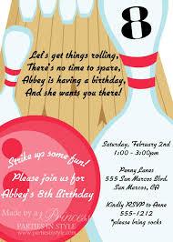 Diy Bowling Favors by Bowling Birthday Printable Invitation Diy Books Worth
