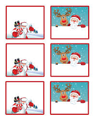 santa u0027s gift you free printable gift tags and labels