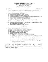 Count No Of Words In Unix Nalanda Open Mca Unix And Oracle Part Iii Paper Xxiii